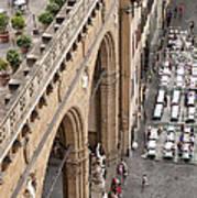 Florence And Piazza Della Signoria Art Print