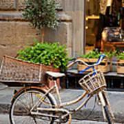 Florence Bicycle  Art Print