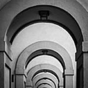 Florence Hallway Art Print