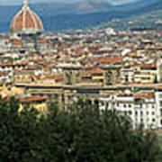 Florence Italy Panoramic Art Print