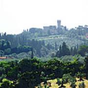 Florence Landscape Art Print