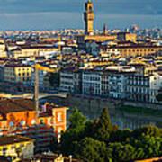 Florence Panorama Art Print