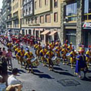 Florence Parade Art Print