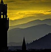 Florence Sunset Art Print