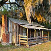 Florida Cracker Cabin Art Print