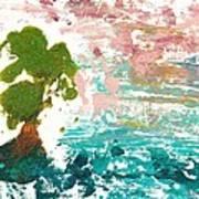 Florida Cypress Art Print