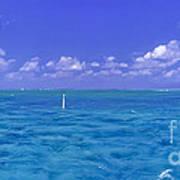 Florida Keys Marathon Intercoastal Waterway 3 Art Print