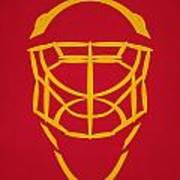 Florida Panthers Goalie Mask Art Print