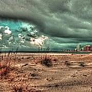 Florida Point Begining Of The Storm Art Print