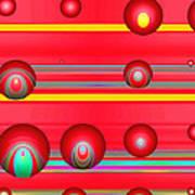 Flotation Devices - Lipstick Art Print