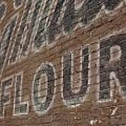 Flour Art Print