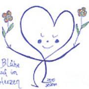 Flourish Within Your Heart Art Print