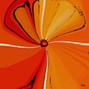 Flower Arrangement Art Print by Ben and Raisa Gertsberg
