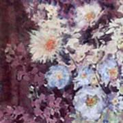 Flower  Burst Art Print