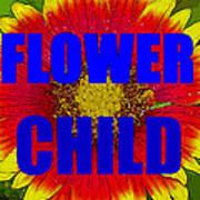 Flower Child Phone Case Work Art Print
