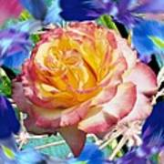 Flower Dance 2 Art Print