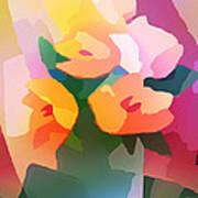 Flower Deco II Art Print