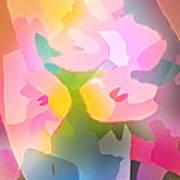 Flower Deco IIi Print by Lutz Baar