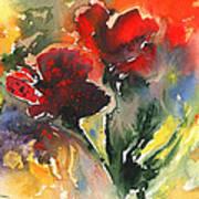 Flower Festival Art Print