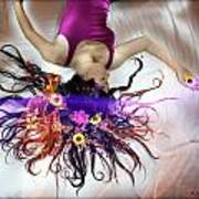 Flower Fire Dream Art Print