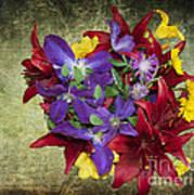 Flower - Garden Joy - Luther Fine Art Art Print