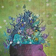 Flower-head1 Art Print