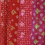 Flower Hmong Velvet Art Print