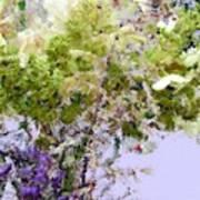 Flower Market Ile De La Cite Art Print