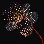 Flower Of Lights Art Print