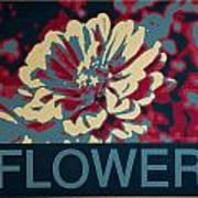 Flower Poster Art Print