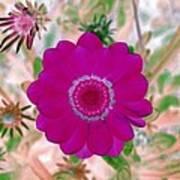 Flower Power 1439 Art Print