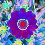 Flower Power 1458 Art Print