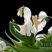 Flower Power Abstract Art Print