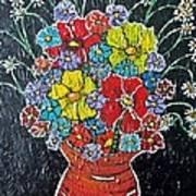 Flower Power Art Print by Matthew  James