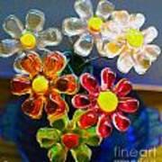 Flower Power Still Life Art Print