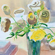 Flower Still Life          Art Print