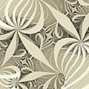 Flower Swirl Art Print