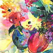Flower Symphony 03 Art Print