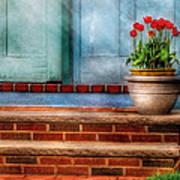 Flower - Tulip - A Pot Of Tulips Art Print