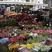 Flowermarket - Tours Art Print
