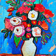 Flowers And Colors Art Print by Ana Maria Edulescu
