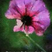 Flowers Are Gods Way 03 Art Print
