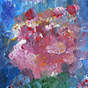 Flowers Bouquet Art Print