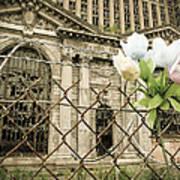 Flowers For Detroit Art Print