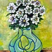 Flowers For Jenny Art Print