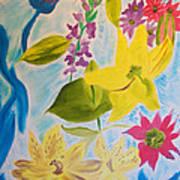 Flowers For Mom Art Print