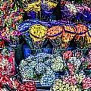 Flowers Galore Art Print