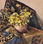 Flowers Immorteles Art Print