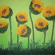 Flowers In Menopause  Art Print