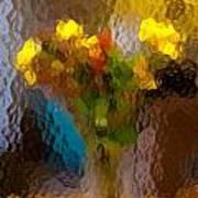Flowers In Vase - Still Life Art Print